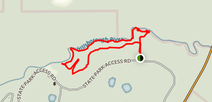 River Rapids Nature Trail Map