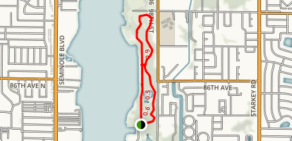 Lake Seminole Park Trail Map