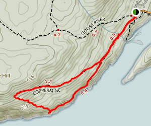 Coppermine Trail  Map