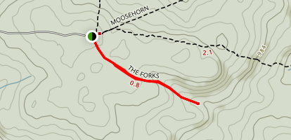 The Forks Trail  Map