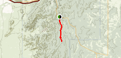 Otero Canyon East Map