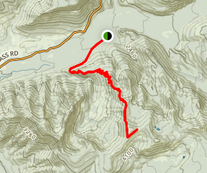 Horseshoe Ridge Trail to Zigzag Mountain Trail  Map
