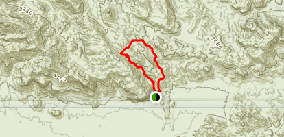 Barks Canyon Trail Map