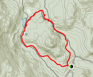 Three Ponds Trail Map
