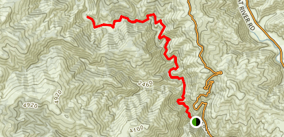 Mad River Trail Map