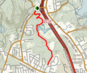 Rush Pond Trail Map