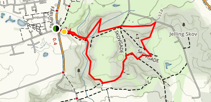 Fårup Lake Skovgade Trail Map