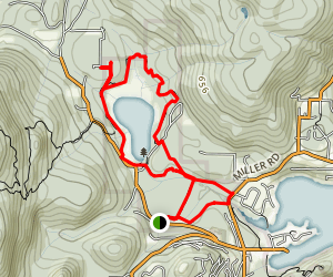 Killarney Lake Map