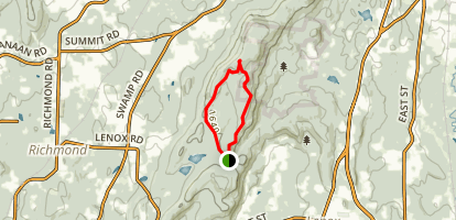 Lenox Mountain Map