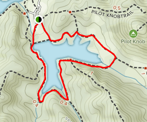 Lake Lagunitas Map