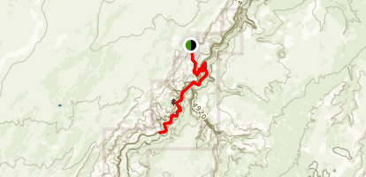 Horseshoe Canyon Trail Map