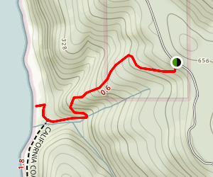 Carruthers Cove Trail Map