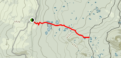 Thomas Lake Trail Map