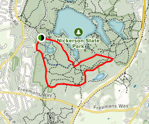 Silas Road Trail Map
