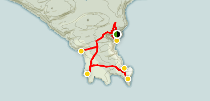 West Cape Howe National Park Trail Map
