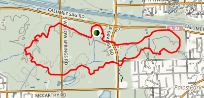 Sag Valley Yellow Trail Map