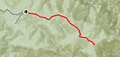 Big Canyon Trail Map