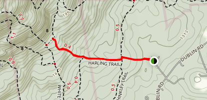 Harling Trail Map