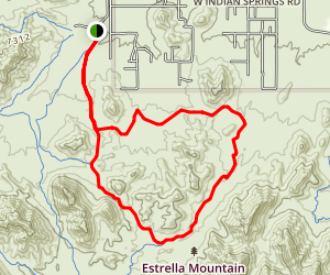Butterfield to Gadsen Loop Trail Map