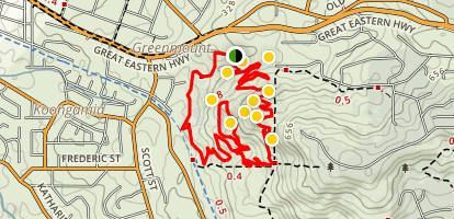 Goat Farm MTB Trails Map