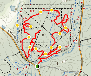 Margaret River Pines Trail Map