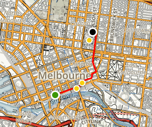 Melbourne: A Culture and Arts Tour Map
