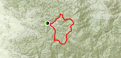 Chiricahua Peak Trail Map