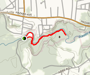 Scantic River State Park Map