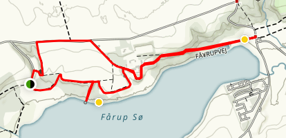 Fårupgård Countryside Trail Map
