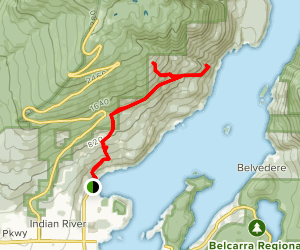 Indian Arm Parks Map