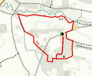 Sporet Trail Map