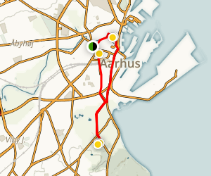 The Royal Tour Aarhus Map