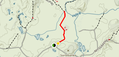 Sønderkær Gul Yellow Route no. 6 Map