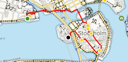 Highlights of Stockholm Map