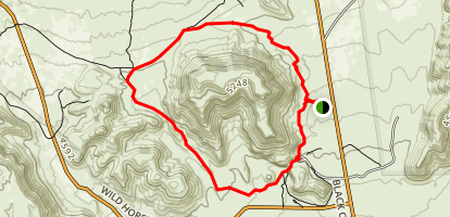 Barber Peak Loop Trail Map
