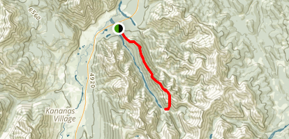 Wasootch Ridge Trail Map