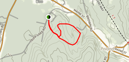 Heart of Poland Conservation Area Trails Map