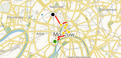 Moscow Highlights Walking Tour - Moscow, Russia | AllTrails