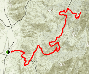 Black Mountain Truck Trail Map