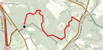 Lone Star Hiking Trail- Phelps Segment Map