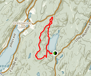 Sterling Ridge and Shore Loop Map