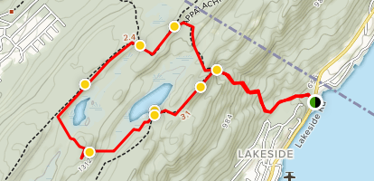 Surprise Lake Loop Map