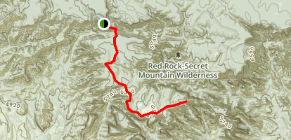 Secret Mountain Trail Map