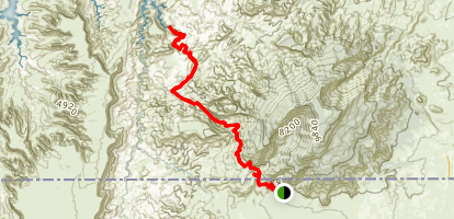 Rainbow Bridge Trail Map
