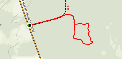 Big Thicket - Beech Woods Trail Map