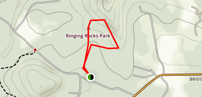 Ringing Rocks Ramble Map