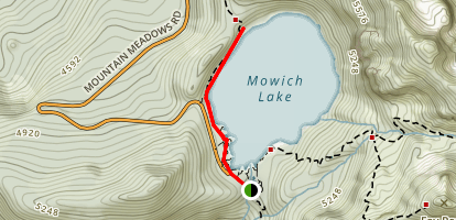 Mowich Lake Trail Map