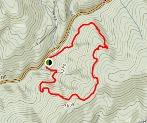 Mt. Spokane State Park Map