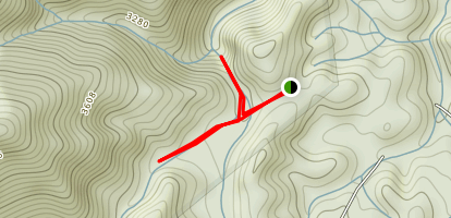 Red Fork Falls Trail Map