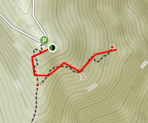 Natural Rock Arch Trail Map